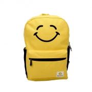 Keep Smiling Canvas Backpack