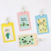 About Cactus Leather Badge Holder