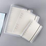 DIY 6 Ring Plastic Binder Cover