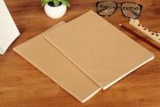 Blank Sewn-Binding Notebook Large
