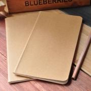 Blank Sewn-Binding Notebook Small