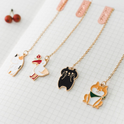 Lovable Animals Hanging Bookmark