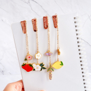 Fragrance of Life Metal Hanging Bookmark