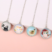 Stylish Cat Metal Hanging Bookmark