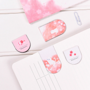 Cherry Blossom Cat Magnetic Bookmark