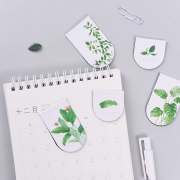 Natural Leaves Magnetic Bookmark