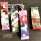 Classical Japan Neko Paper Bookmark Set