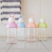 Pastel Animal Plastic Water Bottle