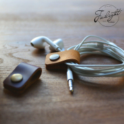 Twilight Leather Cable Tie