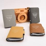 Natural Style Pocket Card Holder