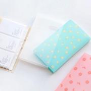 Fresh Pattern Plastic Card Holder
