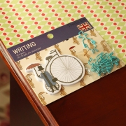 British Clip and Post-it Set