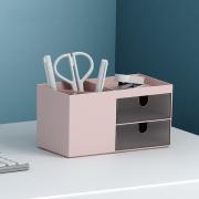 Minimalist 2 Drawer Desktop Storage