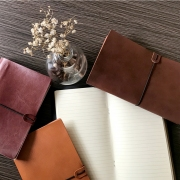 DIY Travelers Notebook Leather Cover Classic Regular