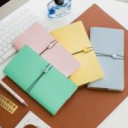 DIY Travelers Notebook Leather Cover Macaron Regular