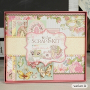 Eno Scrapbook Album Kit Memories 20cm