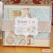 Eno Scrapbook Album Kit Together 20cm
