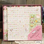 Eno Scrapbook Album Kit Memories 30cm