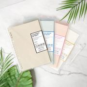 Panmomo Slim File Binder Notebook