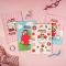 Strawberry Girl File Binder Notebook