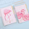 Pink Sands Flamingos File Binder