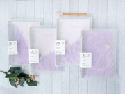 Purple Dream File Binder