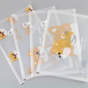 Jojo Shiba Inu Zipper File Folder A4