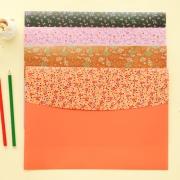 Floral File Folder Big A4