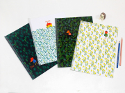 Fox Family Sliding File Folder A4