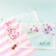 Sakura Viewing Zipper File Folder A5