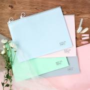Keep Life Simple Zipper File Folder A4