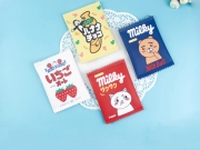 Milky Candy Flat Pouch