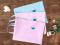 Lovely Flowers Tote Folder A4