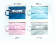 Simple Happy Moment Tote Folder A4