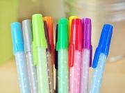 Simple Hearts Color Gel Pen
