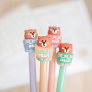 Sweet Bear Pot Gel Ink Pen
