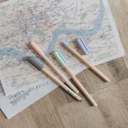 Wood Style Gel Ink Pen
