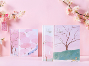 Sakura Romance Stationery Gift Box Set
