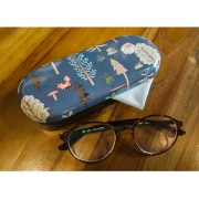 Japan Forest Tin Glasses Case