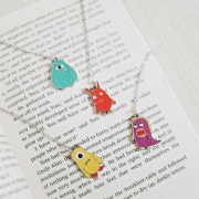 Cute Star Alien Hanging Bookmark