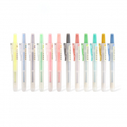 DS Retractable Highlighter Pen