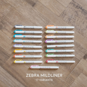 Zebra Mildliner Double Sided Highlighter Pen