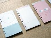 Fun Time Loose Leaf Binder Paper A6