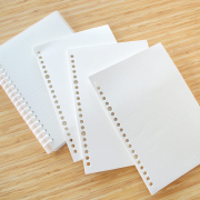 Basic Loose Leaf Binder Paper