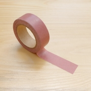 Masking Tape Plain Color Brown