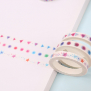 Masking Tape Colorful Shapes 7mm