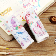 Masking Tape A World With Unicorns 10cm