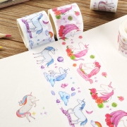 Masking Tape A World With Unicorns 4cm