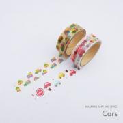 Masking Tape Box Cars