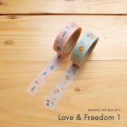Masking Tape Box Love and Freedom 1